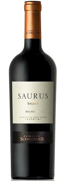 Familia Schroeder Saurus Patagonia Select Malbec (750ml)