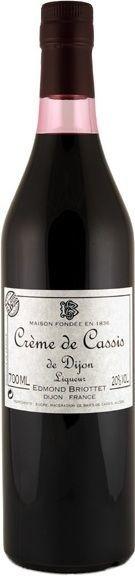 Maison Briottet Crème de Cassis de Dijon Liqueur (700ml)