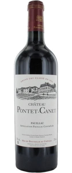 Chateau Pontet Canet 2004 (750ml)