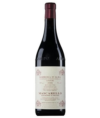 Giuseppe Mascarello  Barbera D'Alba Superiore Scudetto  (750ml)