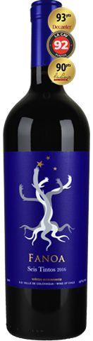 Fanoa Seis Tintos Biodinamico Blend 750 ml