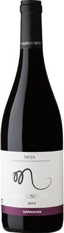Manuscrito Rioja Garnacha (750ml)