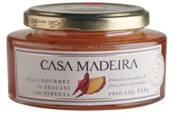 Casa Madeira Geleia de Abacaxi com Pimenta (240g)