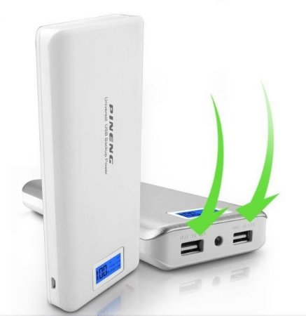Bateria Externa Power Bank 20.000 Mah Pineng