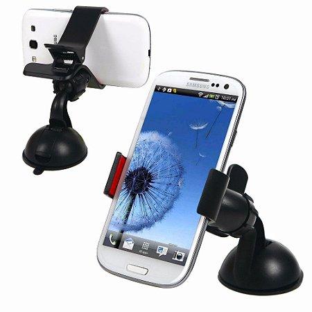 Suporte Veicular Para Smartphone ventosa para vidro