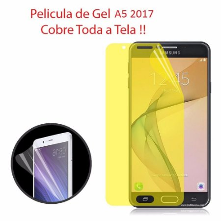 Pelicula Samsung Galaxy A5 2017 A520 Tela Toda Completa Gel
