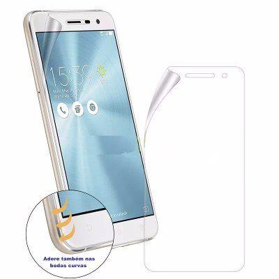 "Pelicula Asus Zenfone 3 Max 5.5"" Polegadas ZC553 Tela Toda Completa Gel"