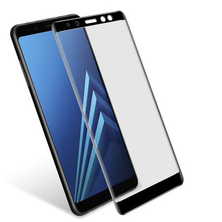 Pelicula de Vidro 3D Samsung Galaxy A8 Plus 2018 Tela Toda