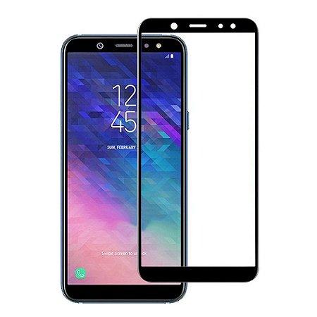 Pelicula de Vidro 3D Samsung Galaxy A6+ 2018 Tela Toda