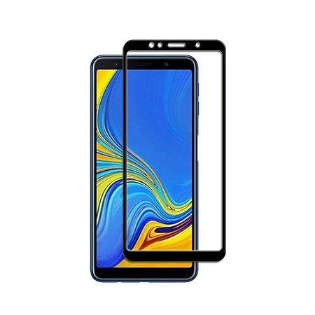 Pelicula de Vidro 3D Samsung Galaxy A7 2018 Tela Toda