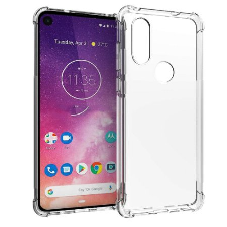 Capa Anti Shock Motorola Moto One Vision