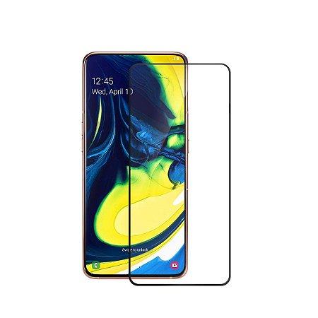 Pelicula de Vidro 3D Samsung Galaxy A80 2019 Tela Toda