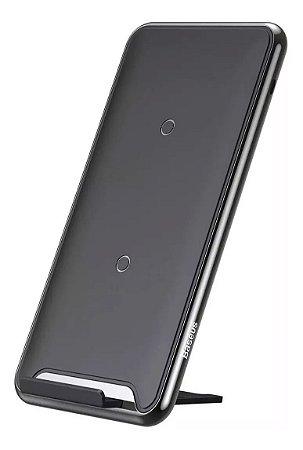 Base Carregador Sem Fio Wireless S10 Note 10 iPhone 11 Baseu