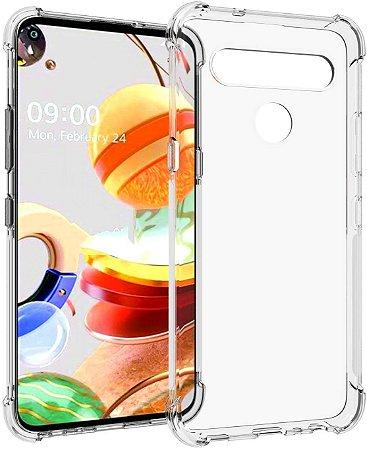 Capa Anti Shock LG K61 + Pelicula de Vidro 3D