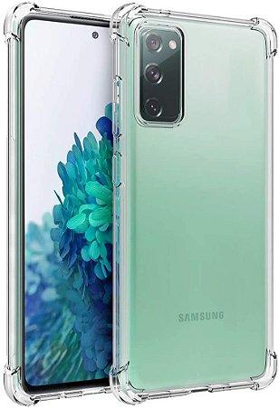 Capa Anti Shock Samsung Galaxy S20FE +Pelicula de Vidro 3D