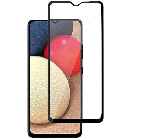 Pelicula de Vidro 3D para Samsung Galaxy A02s Tela Toda