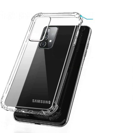 Capa Anti Shock para Samsung Galaxy A52 +Pelicula de Vidro 3D