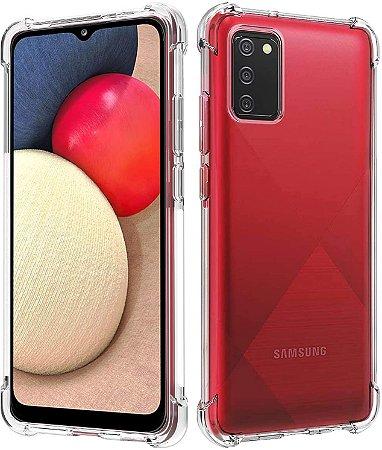 Capa Anti Shock para Samsung Galaxy A02s +Pelicula de Vidro 3D