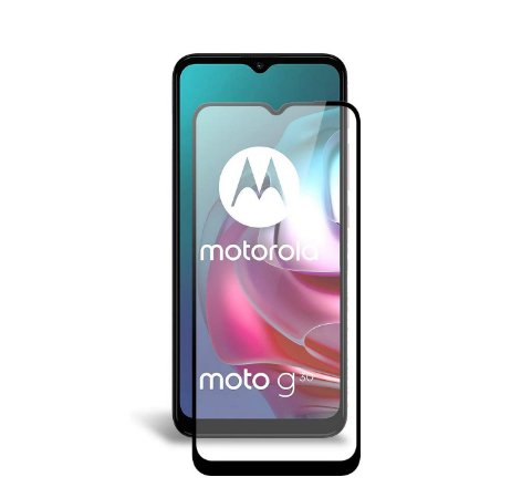 Pelicula De Vidro 3d Tela Toda Motorola Moto G10 G30