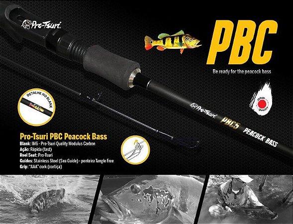 Vara Pro Tsuri PBC Peacock Bass Pro