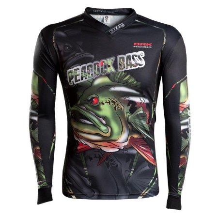 Camiseta BRK River Monster Peacock Bass