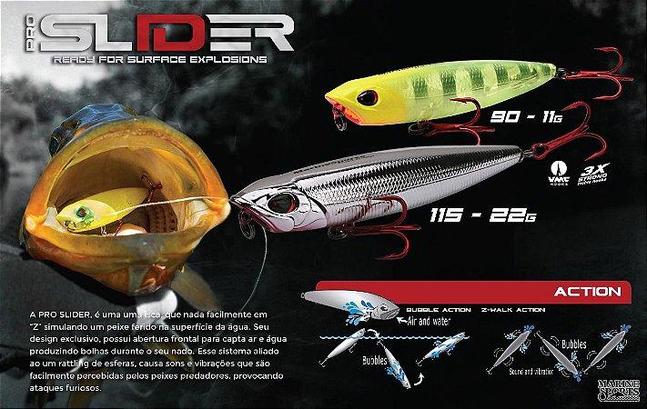 Isca Marine Sports Pro Slider 115