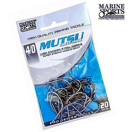 Anzol Marine Sports Mutsu Black Nickel