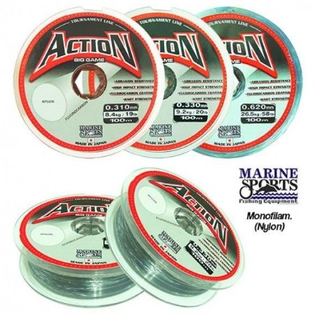 Linha Marine Sports Action BG Grey - 100M