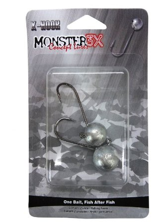 Jig Head Monster 3X - 6/0