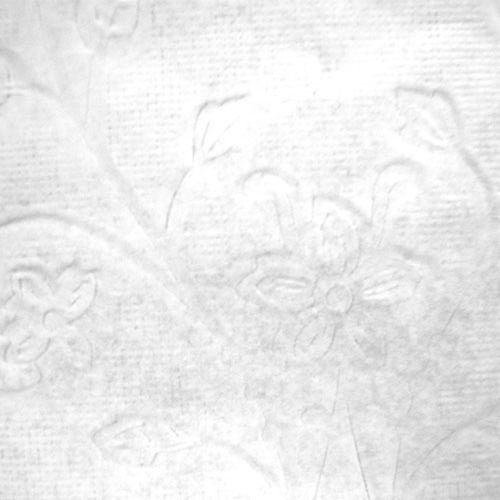 Toalha Rendada Papel Mago relevo flores (45x31) c/100 unids
