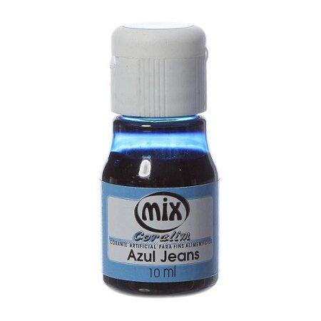 Corante liquido azul jeans 10ml unid (consultar disponibilidade antes da compra)