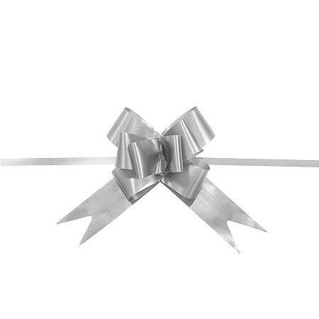 Laço Pronto Medio Prata c/10 unids (consultar disponibilidade antes da compra)