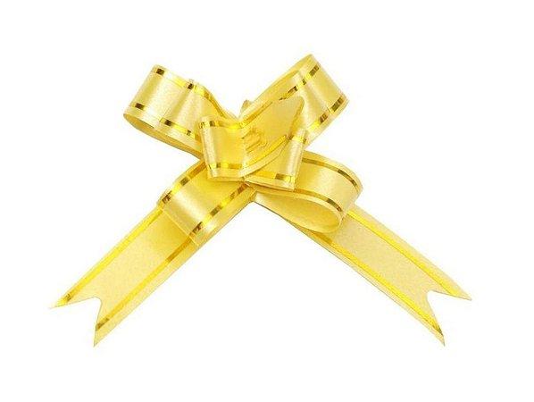 Laço Pronto PP Dourado (Mini) c/10 unids