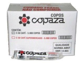 Copo Descartavel 050ML Branco Copaza 5000 unids