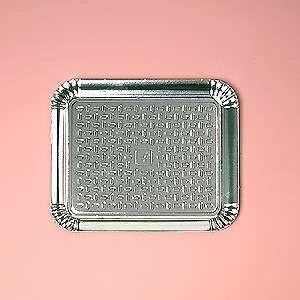 Bandeja papelão laminada nº04 27,5x33,5cm unid