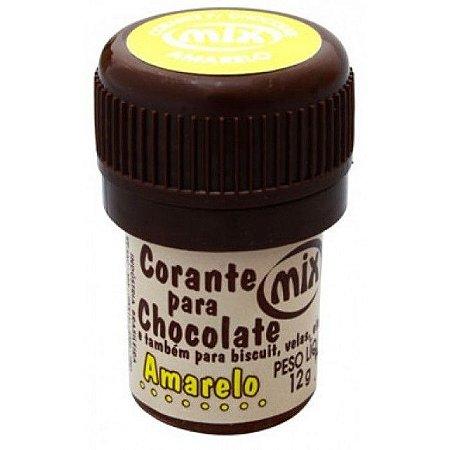 Corante p/ chocolate amarelo 12grs unid (consultar disponibilidade antes da compra)