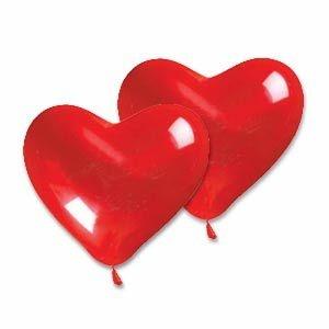 Balão nº6 Coração Happy Day 30 unids (consultar disponibilidade antes da compra)
