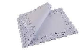 Toalha Rendada papel Mago mod 4531 (45x31) 100 unids