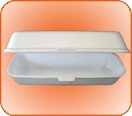 Bandeja isopor HM 04 (Hot dog) 400 unids