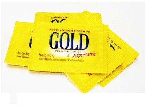 Adoçante Sachê Gold Aspartame 1000 unid