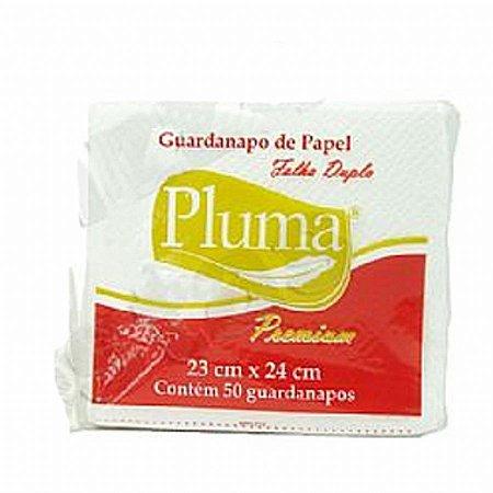 Guardanapo 23x24 PLUMA Fl DUPLA c/ 50 UNIDS