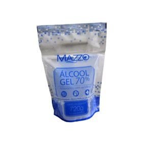 Álcool Gel 70% Gel Mazzo (Refil) 720grs unid