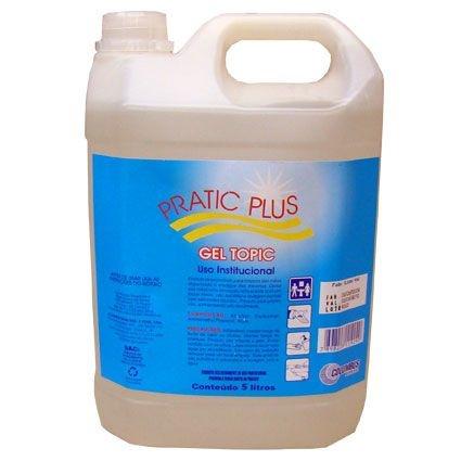 Álcool Gel 70% Columbus Pratic Plus 4,5kgs unid