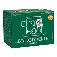 Chá Leão Boldo do Chile c/10 (sache)