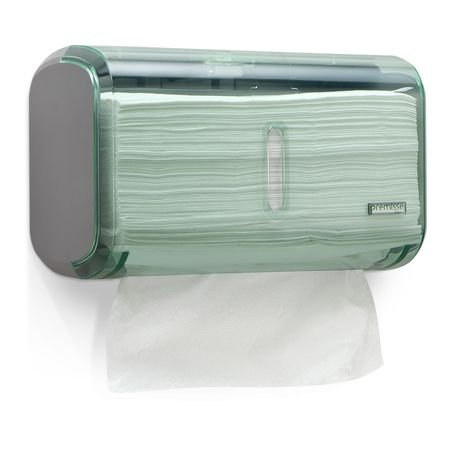 Toalheiro Premisse Verde Abs Compacto Pequeno (luxo) unid