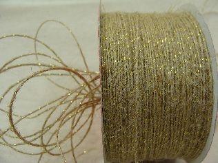 Fio Juta dourado (2005 cor 102) 2mmx100mts unid