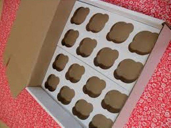 Caixa para Cup Cakes Grande (Transportar) unid