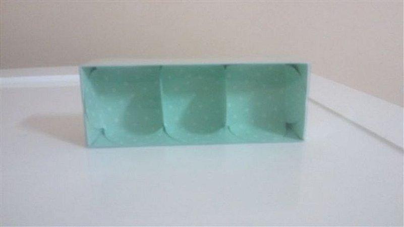 Embalagem forma papel cartao petalas verde c/03 unids  (consultar disponibilidade antes da compra)