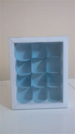 Embalagem forma papel cartao petalas c/12 unids  (consultar disponibilidade antes da compra)