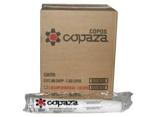 Copo Descartavel 180ML Branco Copaza 2500 unids